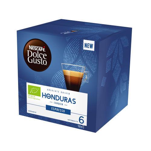 Кафе NESCAFE®  Dolce Gusto® ESPRESSO HONDURAS BIO
